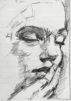 Art Drawings Sketches Simple, Pencil Art Drawings, Scribble Art, Still Life Drawing, Small Canvas Art, Anatomy Art, Art Sketchbook, Portrait Art, Art Inspo