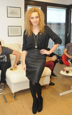 Hot Blondes, Romania, Leather Skirt, Beautiful Women, Skirts, Style, Fashion, Swag, Moda