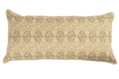Image of Diamond Batik Sage Double Sided Bolster