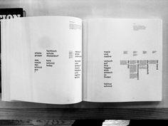 0수의 음악, 그림, 생각의 기록 :: helmut schmid : gestaltung ist haltung Helmut Schmid, Typography Layout, Book Design, Editorial, Books, Typography, Magazines, Concept, School