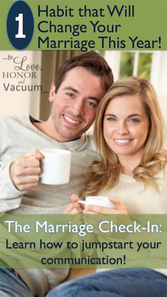 The Marriage Check In: One habit that will change your marriage for good this new year!