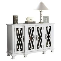 Chloe Cabinet in White at Joss & Main