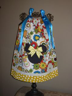 Minnie+Mouse+Retro+Pillowcase+Dress+extra+for+by+STLGIRL+on+Etsy,+$20.00