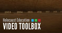 The Holocaust Education Video Toolbox is a new video portal designed specifically for Holocaust teachers and educators. Starting from the fundamentals and building up, these videos are designed to provide hands-on, practical information for anyone in the field of Holocaust education.