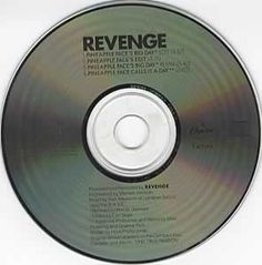 """For Sale - Revenge Pineapple Face USA Promo  CD single (CD5 / 5"""") - See this and 250,000 other rare & vintage vinyl records, singles, LPs & CDs at http://eil.com"""
