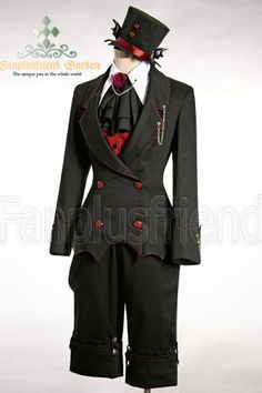 Gothic Punk Dandy Ouji Bat Breeches&Suspenders - fanplusfriend - this is such a cute outfit!