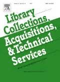 Collection development based on patron requests: collaboration between interlibrary loan and acquisitions (abstract) - by Suzanne M. Warda,Tanner Wrayb, Karl E. Debus-Lópezc - (Library Collections, Acquisitions, and Technical Services, Volume 27, Issue 2, Summer 2003, Pages 203–213) - - http://www.journals.elsevier.com/library-collections-acquisitions-and-technical-services/
