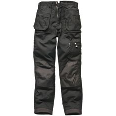 """Dickies Mens Eisenhower Multi Pocket Trousers Black 40"""" 34"""": Features : - Two back patch… #Tools #HandTools #PowerTools #GardenTools"""