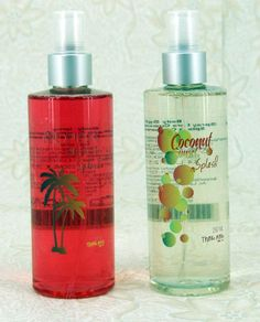 """SPLASH"" Think Pink.  - ""TROPICAL BEACH""  - ""COCONUT SUNSET""  PARA USAR TODOS LOS DÍAS!"