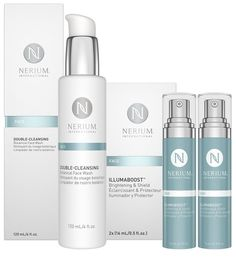 Nerium International Introduces Double-Cleansing Botanical Face Wash and Illumaboost(TM) Brightening & Shield