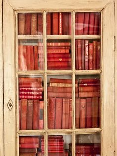 Closet Library Who needs to hang coats or store linens? Because books that's why.