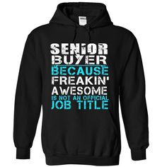 Awesome Senior Buyer Hoodie