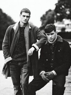Sam Lawson and Michael Morgan by Joost Vandebrug for Zoo.