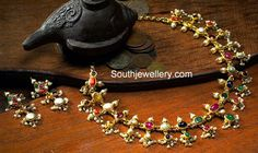 navratna pearls necklace