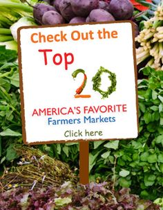 America's Favorite Farmers Market Contest - the Downtown Lee's Summit Farmers Market was voted No. 7 in the nation for the medium-sized market category.