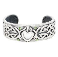 Celtic Claddagh Bracelet - CCJ135 by Medieval Collectibles