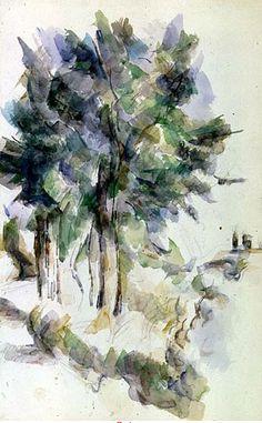 Cezanne, Trees