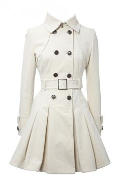 Classic Women's Winter Coat Styles u can never go wrong with a stylish trench coat!u can never go wrong with a stylish trench coat! Mode Style, Style Me, Cute Coats, Women's Coats, Retro Mode, White Dresses For Women, Ladies White, Dress Coats For Women, Winter Coats Women