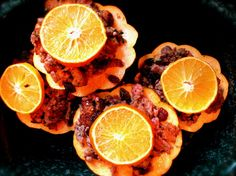 Crockpot Cran-Orange Acorn Squash