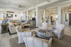 Greet guests as they enter this open space, perfect for any party or get-together.