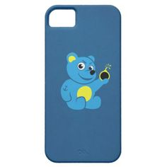 Evil tattooed cartoon teddy bear iPhone 5 case $42.95 #iphone