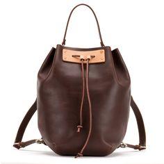 Bucket Backpack - Leather Drawstring Backpack | Saddleback Leather Co.