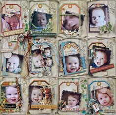 12 Months, 12 Memories **Swirlydoos Kit Club** - Scrapbook.com