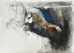 Pastels and black chalk on paper - 2010