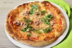 Pizza tipo napoletana con lievito madre