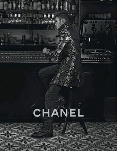 Baptiste Giabiconi for Chanel Paris-Bombay 2012