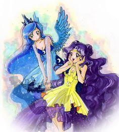 Princess Luna meet Guardian Luna