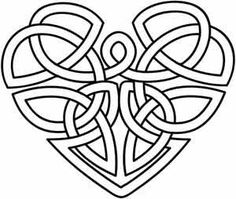 Celtic Heart | Urban Threads: Unique and Awesome Embroidery Designs