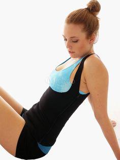 a311388081a45 Sauna Hot Tank Top Vest Slimming Shapewear Weight Loss Shaper Waist Trainer  w Buckle