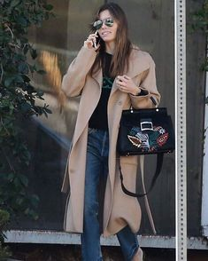 Spotted in #PremiumVintage, @jessicabiel wearing the Gia High Rise. #modelcitizen
