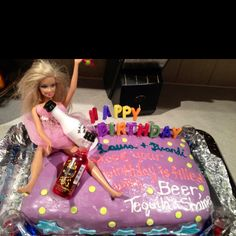 Drunken Barbie Cake Emily Smith Appetizers For Party Barbie Cake St Birthday