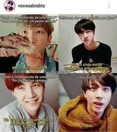 O jin ele. Bts Memes, Bts Jin, Bts Bangtan Boy, K Pop, Bts Qoutes, Bts Facts, Bts Love Yourself, Worldwide Handsome, Namjin