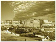 1920 körül, Tabán, Aranykakas utca.