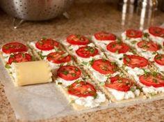 Caprese Lasagna Roll Ups Recipe