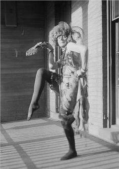 Elsa von Freytag-Loringhoven. Dada Queen of painting, sculpture, performance, assemblage. b1874 - d.1927.