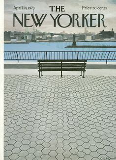 The New Yorker - Saturday, April 14, 1973 - Issue # 2513 - Vol. 49 - N° 8 - Cover by : Charles E. Martin