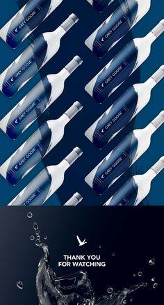 Grey Goose Vodka – Bottle redesign concept