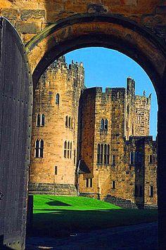 Alnwick Castle, Northumberland in England