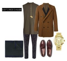 """""""Untitled #437"""" by d3finedimage on Polyvore featuring Ted Baker, Rick Owens, Yohji Yamamoto, Bass Weejuns, Versace, Michael Kors, Gucci, men's fashion and menswear"""