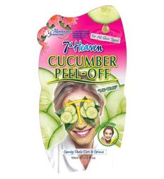Montagne Jeunesse Heaven Cucumber Peel Off Masque Care Care Tools Devices Care Care Perms Relaxers-Texturizers Perm Accessories Care Care Tools Face Scrub Homemade, Homemade Face Masks, Homemade Moisturizer, Skin Care Regimen, Skin Care Tips, Cucumber Face Mask, Cucumber Eyes, Acne Face Mask, Peel Off Mask