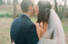 Jillian + Marcus « Southern Weddings Magazine Hair with veil