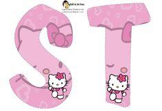 alphabet hello kitty