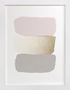 blush & gold | by Carrie ONeal Darker grey & warmer blush & more vibrant blush for my living room