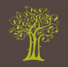 Abstract tree photo