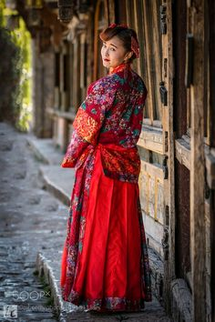 Model at Old Town of Lijiang