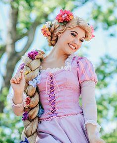 Rapunzel <3 Disney World face character